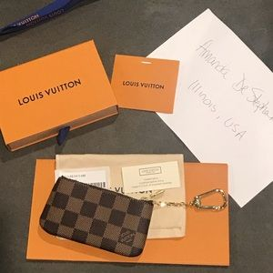 Louis Vuitton Key Pouch/Pochette Cles
